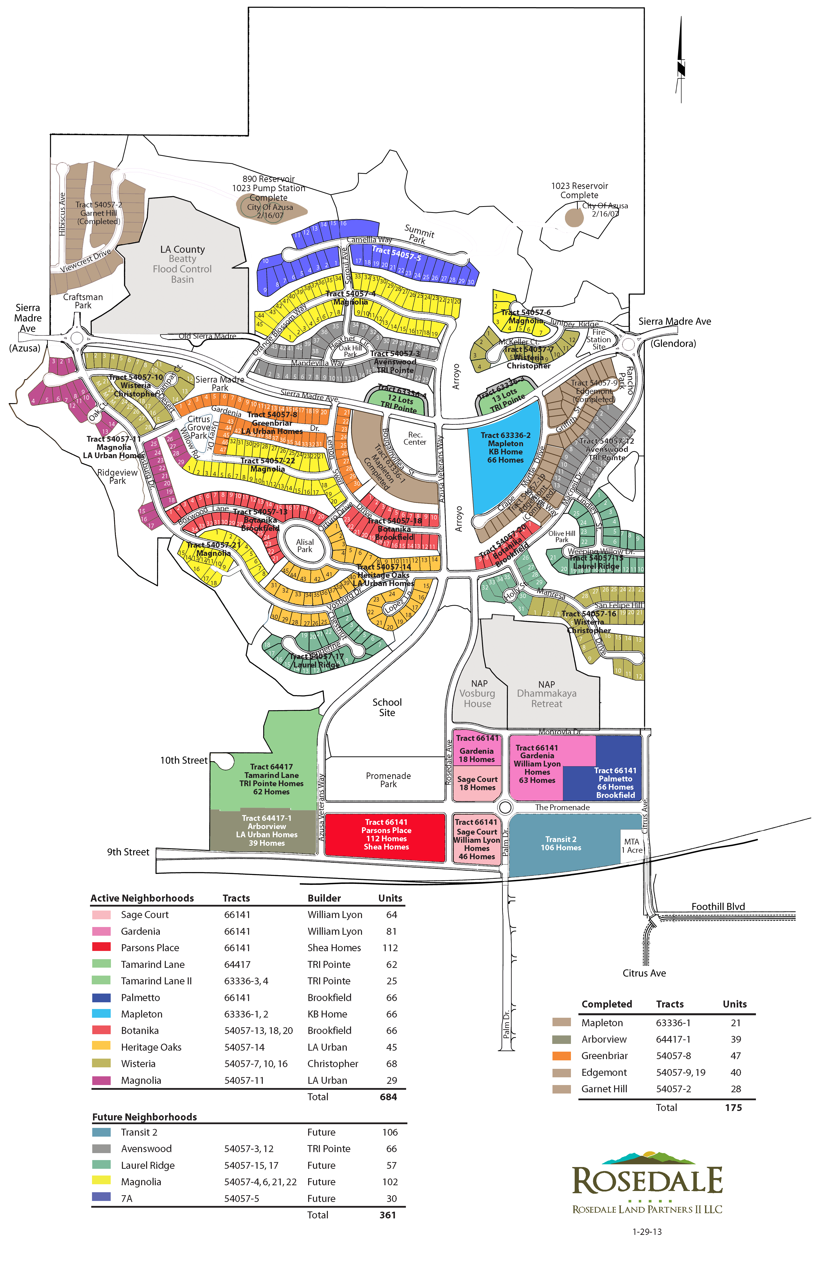 North Rosedale Park & Community Map